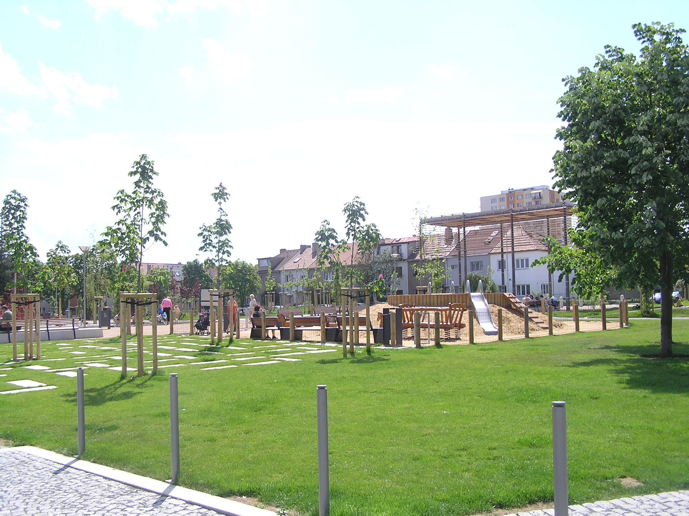 Revitalizovaný park