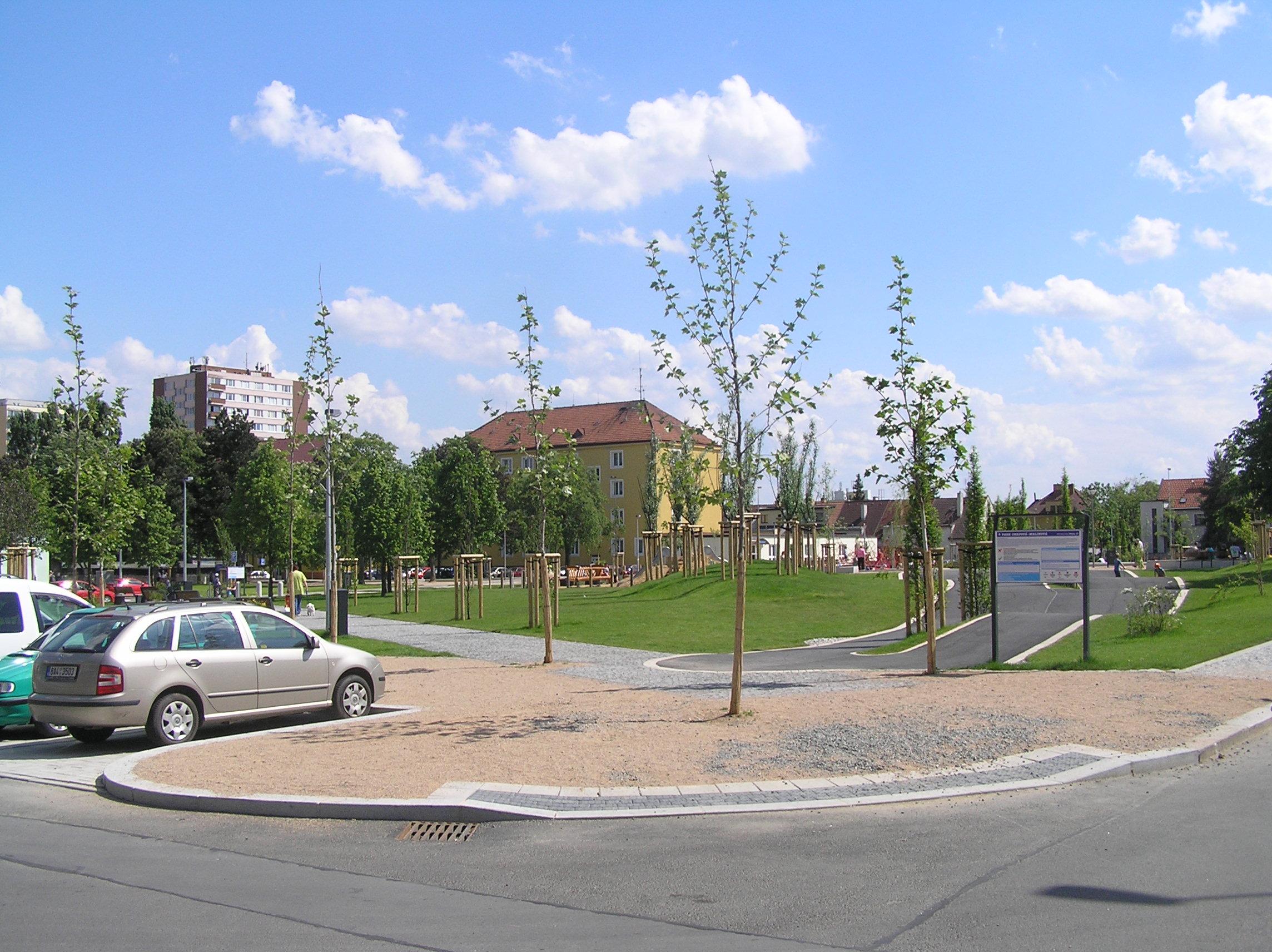 Revitalizovaný park 2