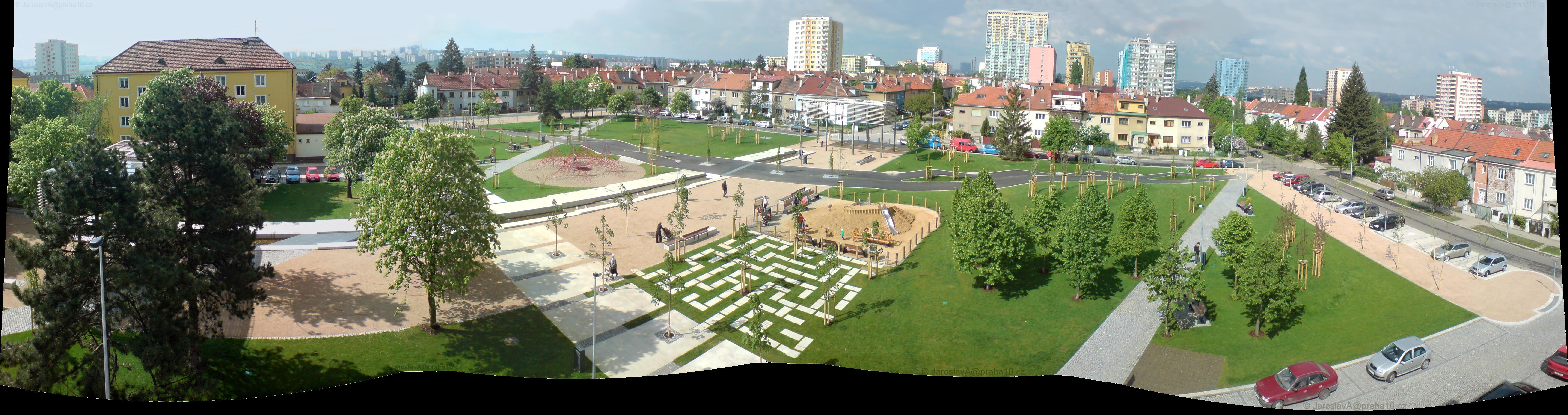 Revitalizovaný park 8