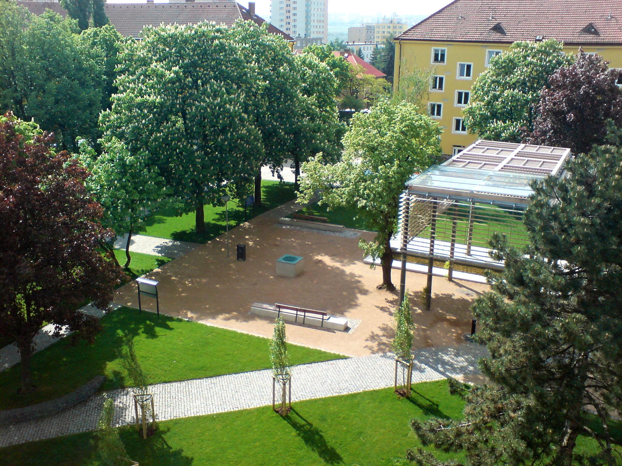 Revitalizovaný park 3