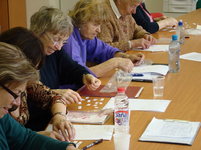 Ilustrační fotografie účastníků během kurzu